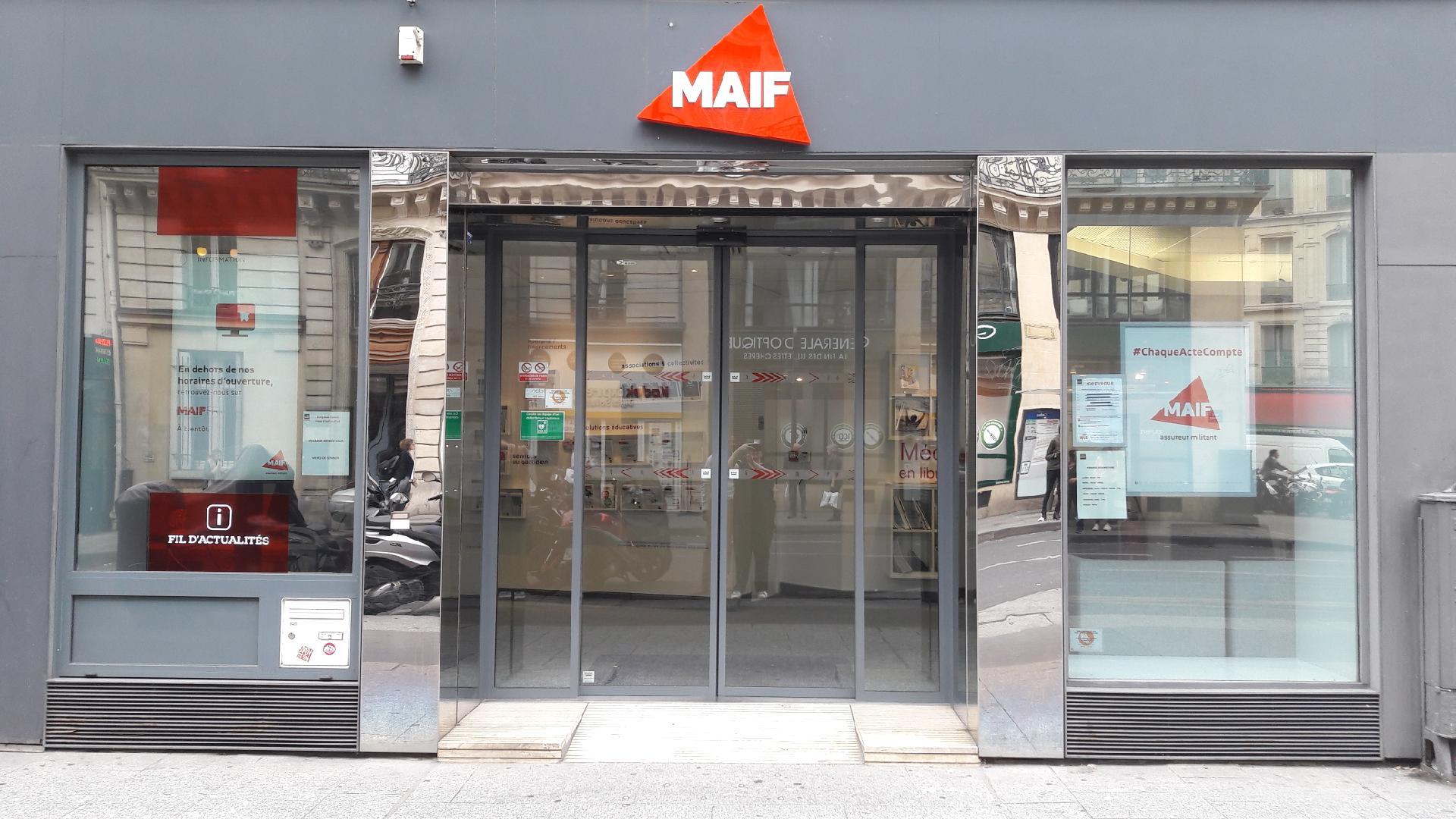 MAIF Assurances Paris Châteaudun
